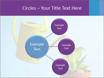 Plant And Wateringpot PowerPoint Templates - Slide 79