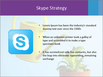 Plant And Wateringpot PowerPoint Templates - Slide 8