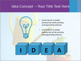 Plant And Wateringpot PowerPoint Template - Slide 80