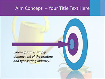 Plant And Wateringpot PowerPoint Template - Slide 83