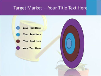 Plant And Wateringpot PowerPoint Templates - Slide 84