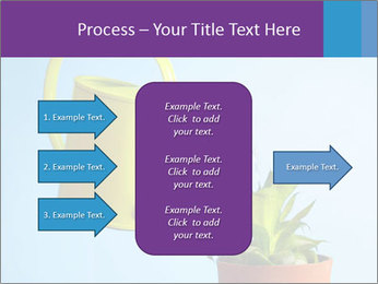 Plant And Wateringpot PowerPoint Templates - Slide 85