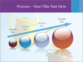Plant And Wateringpot PowerPoint Templates - Slide 87