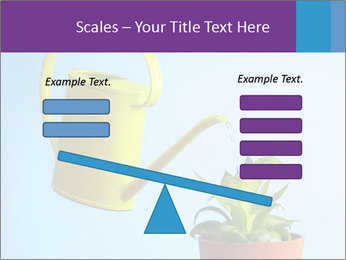 Plant And Wateringpot PowerPoint Templates - Slide 89
