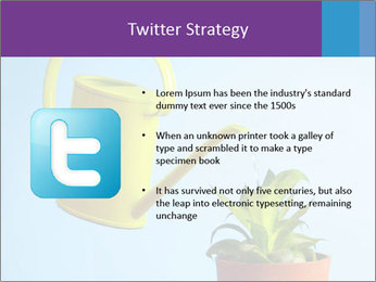 Plant And Wateringpot PowerPoint Template - Slide 9