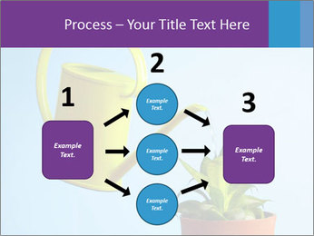 Plant And Wateringpot PowerPoint Templates - Slide 92