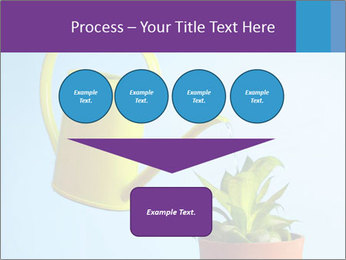 Plant And Wateringpot PowerPoint Templates - Slide 93