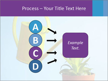 Plant And Wateringpot PowerPoint Templates - Slide 94