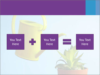 Plant And Wateringpot PowerPoint Templates - Slide 95
