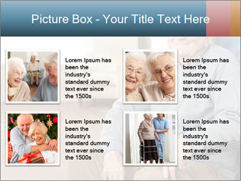 Disabled Old Man PowerPoint Template - Slide 14