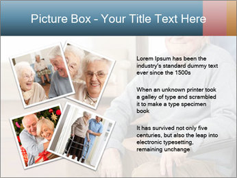 Disabled Old Man PowerPoint Template - Slide 23