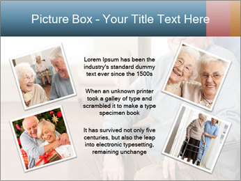 Disabled Old Man PowerPoint Template - Slide 24