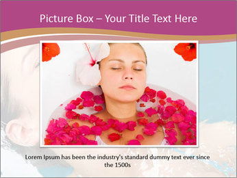 Happy Woman In Water PowerPoint Templates - Slide 16