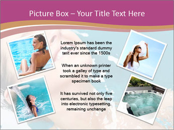 Happy Woman In Water PowerPoint Templates - Slide 24