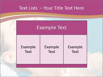 Happy Woman In Water PowerPoint Templates - Slide 59