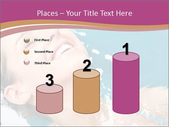 Happy Woman In Water PowerPoint Templates - Slide 65