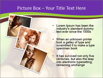 Woman Loves Herbal Tea PowerPoint Template - Slide 17