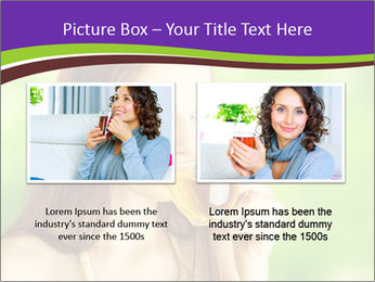 Woman Loves Herbal Tea PowerPoint Template - Slide 18