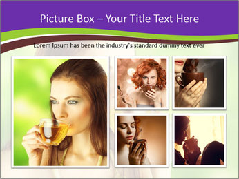 Woman Loves Herbal Tea PowerPoint Template - Slide 19