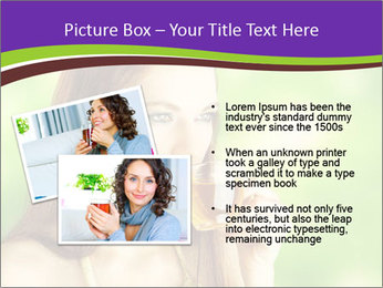 Woman Loves Herbal Tea PowerPoint Template - Slide 20