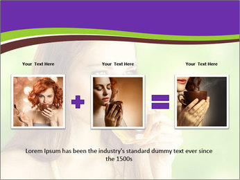 Woman Loves Herbal Tea PowerPoint Template - Slide 22
