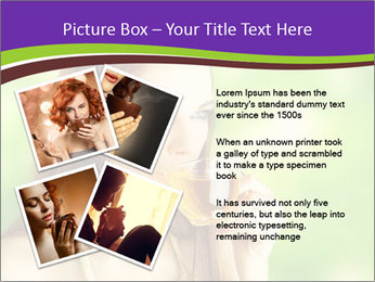 Woman Loves Herbal Tea PowerPoint Template - Slide 23