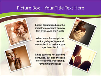 Woman Loves Herbal Tea PowerPoint Template - Slide 24