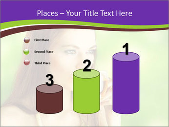 Woman Loves Herbal Tea PowerPoint Template - Slide 65