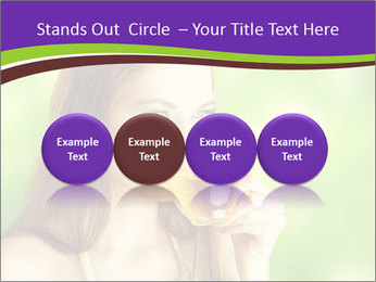 Woman Loves Herbal Tea PowerPoint Template - Slide 76