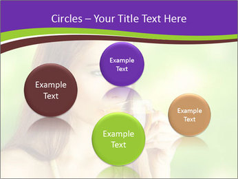 Woman Loves Herbal Tea PowerPoint Template - Slide 77