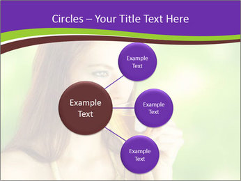 Woman Loves Herbal Tea PowerPoint Template - Slide 79