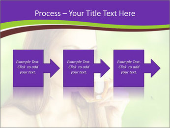 Woman Loves Herbal Tea PowerPoint Template - Slide 88