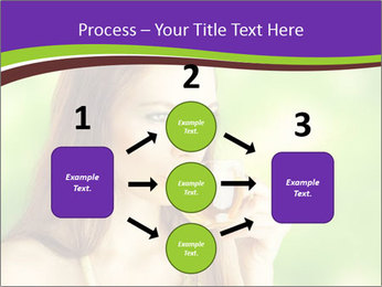 Woman Loves Herbal Tea PowerPoint Template - Slide 92