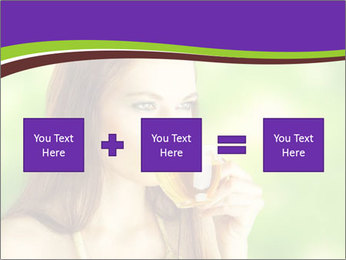 Woman Loves Herbal Tea PowerPoint Template - Slide 95