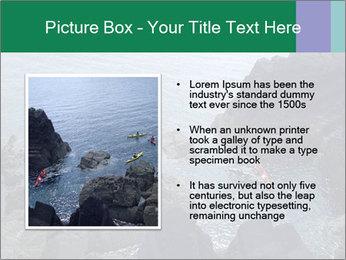 Canoeing Team PowerPoint Templates - Slide 13