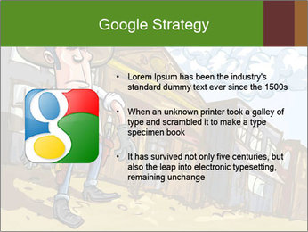 Western Gunman Cartoon PowerPoint Template - Slide 10
