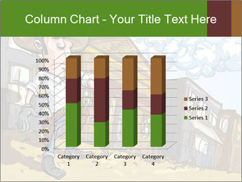 Western Gunman Cartoon PowerPoint Template - Slide 50
