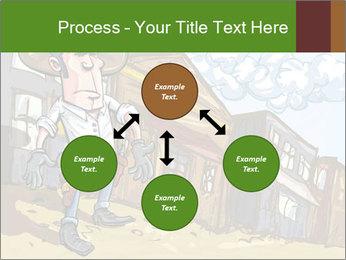 Western Gunman Cartoon PowerPoint Template - Slide 91