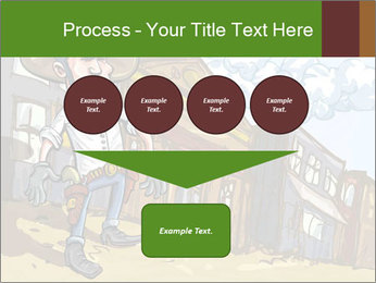 Western Gunman Cartoon PowerPoint Template - Slide 93