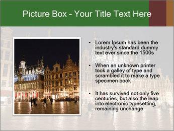 Belgium Main Square PowerPoint Template - Slide 13