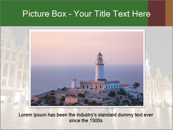 Belgium Main Square PowerPoint Template - Slide 16
