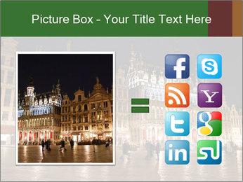 Belgium Main Square PowerPoint Template - Slide 21