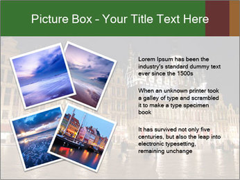 Belgium Main Square PowerPoint Template - Slide 23
