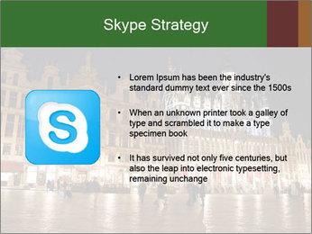 Belgium Main Square PowerPoint Template - Slide 8