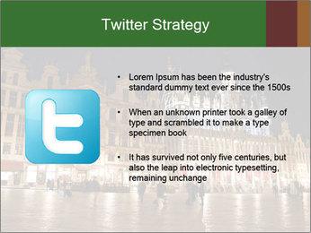 Belgium Main Square PowerPoint Template - Slide 9