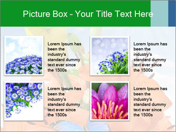 Flowers And Butterfly PowerPoint Templates - Slide 14