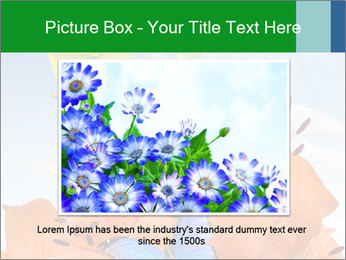 Flowers And Butterfly PowerPoint Templates - Slide 15