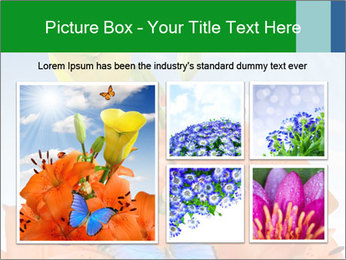 Flowers And Butterfly PowerPoint Templates - Slide 19