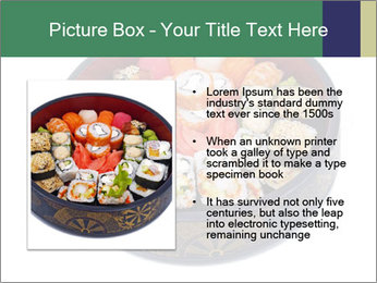 Rolled and sushi PowerPoint Templates - Slide 13