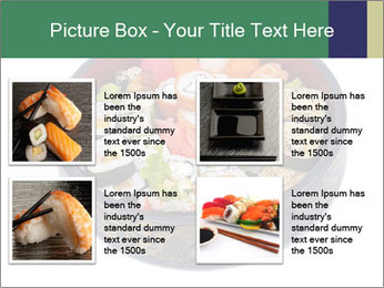 Rolled and sushi PowerPoint Templates - Slide 14